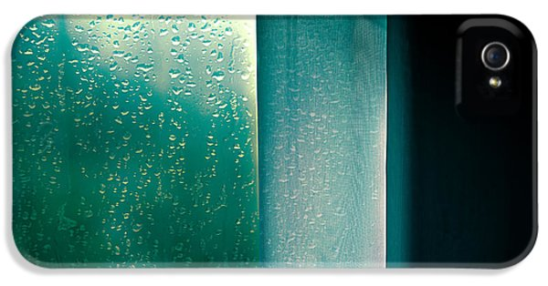 Rain.window iPhone 5 Cases - Wednesday In September  iPhone 5 Case by Bob Orsillo