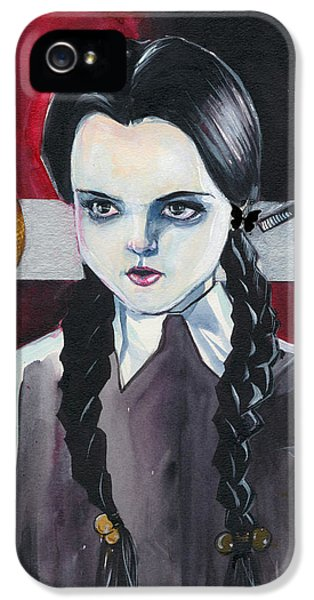 Wednesday iPhone 5 Cases - Wednesdays Mind iPhone 5 Case by Jimmy Adams