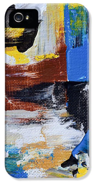 Burnt Umber iPhone 5 Cases - Weekend Retreat iPhone 5 Case by Heidi Smith