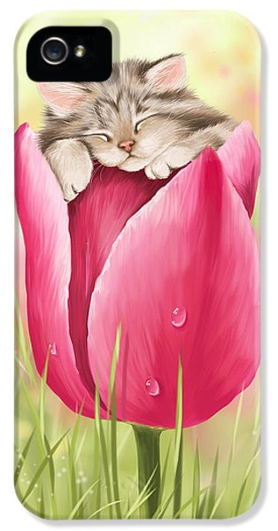 Waterdrop iPhone 5 Cases - Welcome spring iPhone 5 Case by Veronica Minozzi