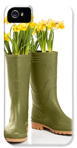 Spring iPhone 5 Cases - Wellington Boots iPhone 5 Case by Amanda And Christopher Elwell