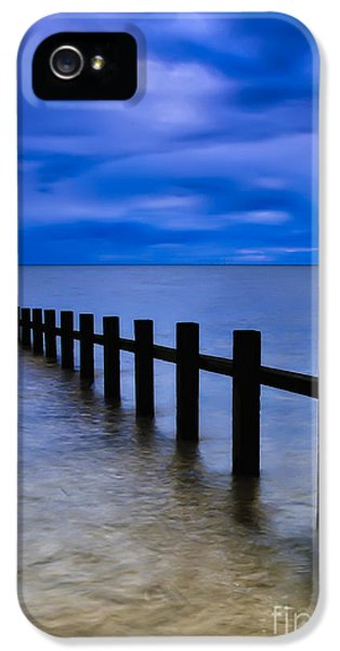 Sea iPhone 5 Cases - Welsh Seascape iPhone 5 Case by Adrian Evans