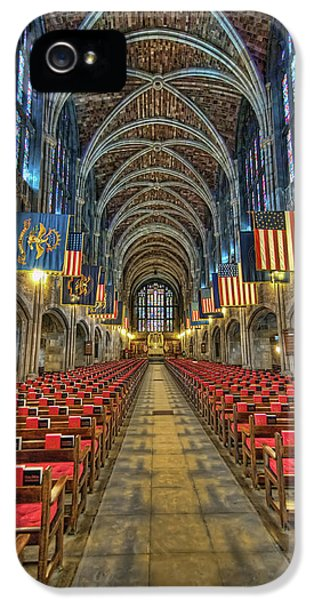 Hdr iPhone 5 Cases - West Point Cadet Chapel iPhone 5 Case by Dan McManus