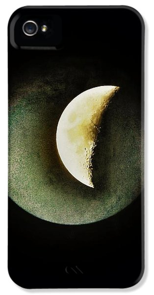 Modern Steampunk iPhone 5 Cases - When The Moons Collide iPhone 5 Case by Marianna Mills