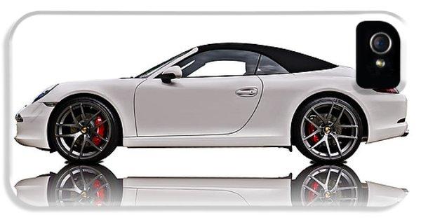 Porsche 911 iPhone 5 Cases - White 911 iPhone 5 Case by Douglas Pittman