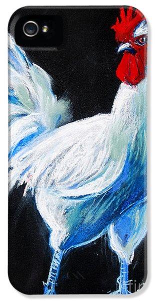 White Chicken IPhone 5 / 5s Case by Mona Edulesco