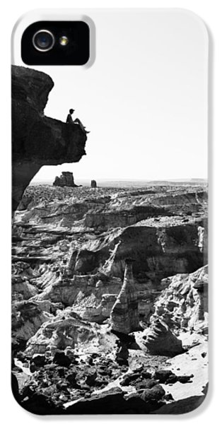 National Monuments iPhone 5 Cases - White Rocks iPhone 5 Case by Chad Dutson
