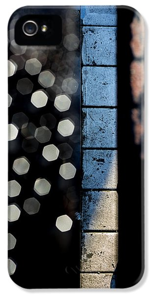 Fear iPhone 5 Cases - White Sneakers On The Edge iPhone 5 Case by Bob Orsillo