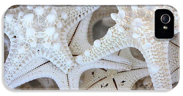 White Starfish IPhone 5 / 5s Case by Carol Groenen