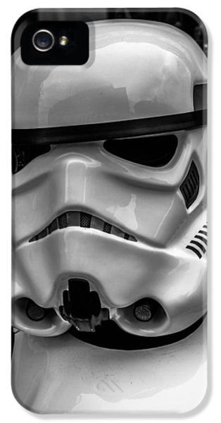 Culture iPhone 5 Cases - White Stormtrooper iPhone 5 Case by David Doyle