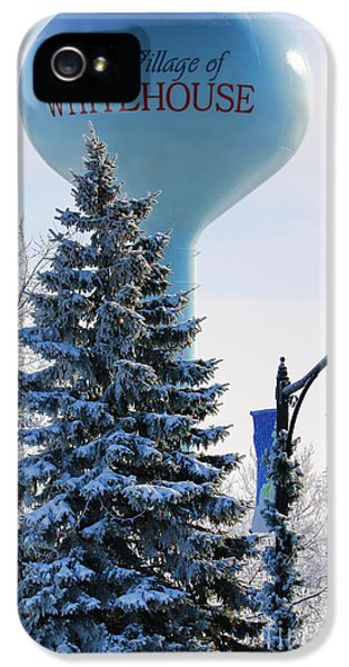 Whitehouse Water Tower  7361 IPhone 5 / 5s Case by Jack Schultz