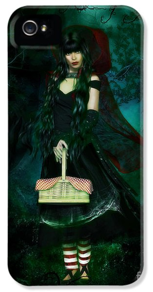 Who iPhone 5 Cases - Who is Afraid of the Big Bad Wolf iPhone 5 Case by Shanina Conway