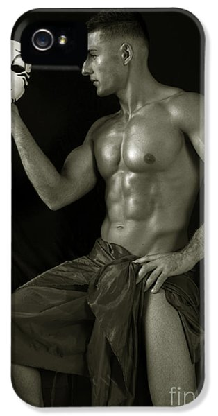Erotic Male iPhone 5 Cases - Autopia iPhone 5 Case by Mark Ashkenazi