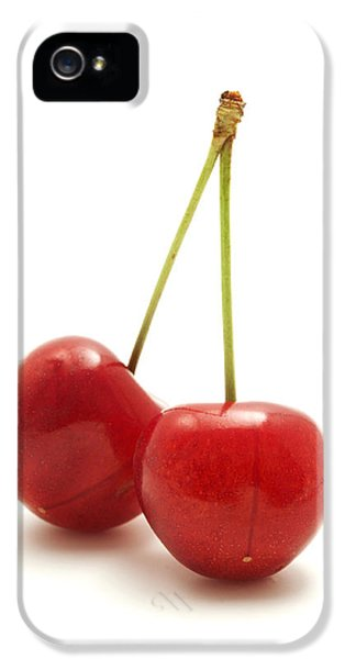 Cut-out iPhone 5 Cases - Wild cherry iPhone 5 Case by Fabrizio Troiani
