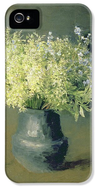 Wild Lilacs And Forget Me Nots IPhone 5 / 5s Case by Isaak Ilyich Levitan