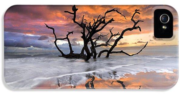 Cloud iPhone 5 Cases - Wildfire iPhone 5 Case by Debra and Dave Vanderlaan