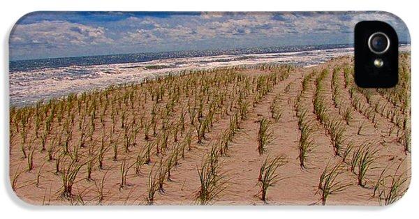 Wildwood Beach Breezes  IPhone 5 / 5s Case by David Dehner