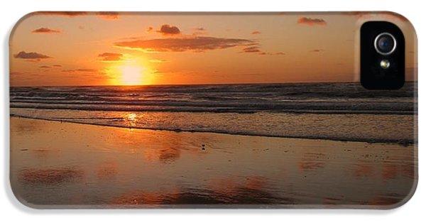 Wildwood Beach Sunrise IPhone 5 / 5s Case by David Dehner