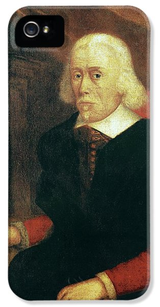 National Portrait Gallery iPhone 5 Cases - William Harvey, English Physician iPhone 5 Case by Spl