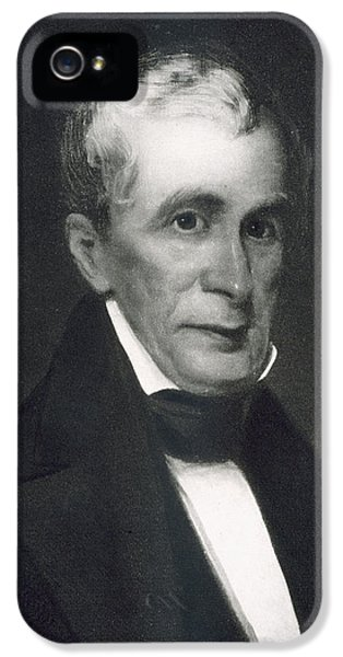 President Of The United States iPhone 5 Cases - William Henry Harrison iPhone 5 Case by Eliphalet Frazer Andrews