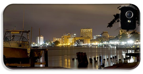 Fear iPhone 5 Cases - Wilmington Riverfront - North Carolina iPhone 5 Case by Mike McGlothlen