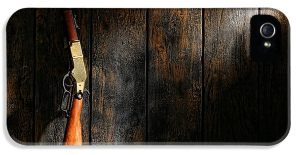 American Western iPhone 5 Cases - Winchester iPhone 5 Case by Olivier Le Queinec