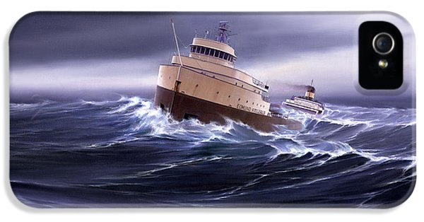 Wind And Sea Astern IPhone 5 / 5s Case by Captain Bud Robinson