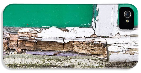 Broken iPhone 5 Cases - Window frame rot iPhone 5 Case by Tom Gowanlock