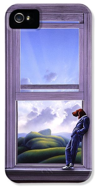 Surreal iPhone 5 Cases - Window of Dreams iPhone 5 Case by Jerry LoFaro