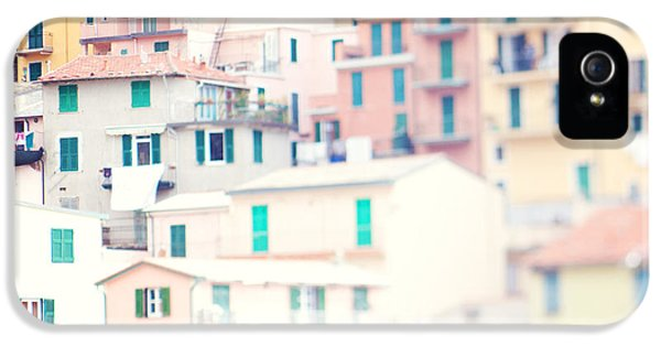 Windows Of Cinque Terre Italy IPhone 5 / 5s Case by Kim Fearheiley