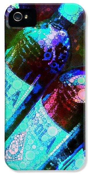 Coppola iPhone 5 Cases - Wine Bottles iPhone 5 Case by Cindy Edwards