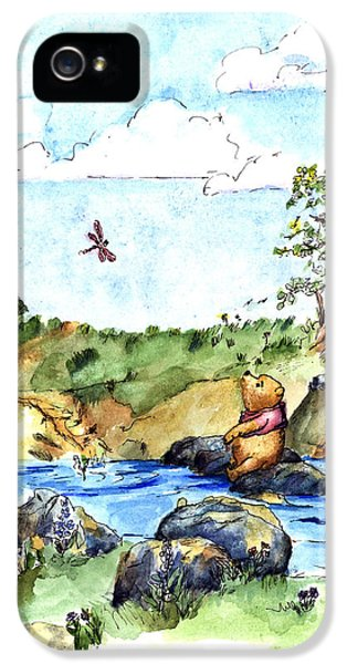 Imagining The Hunny  After E  H Shepard IPhone 5 / 5s Case by Maria Hunt