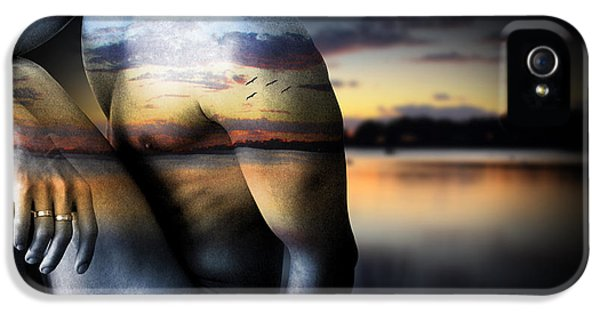 Gay Art iPhone 5 Cases - With The Sea  iPhone 5 Case by Mark Ashkenazi