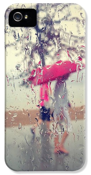 Rain.window iPhone 5 Cases - Withered Rose Petals iPhone 5 Case by Jerry Cordeiro