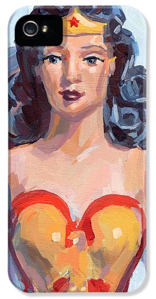 Wonder Woman IPhone 5 / 5s Case by Kimberly Santini