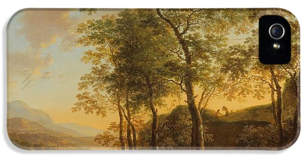 Wooded Hillside With A Vista IPhone 5 / 5s Case by Jan Both