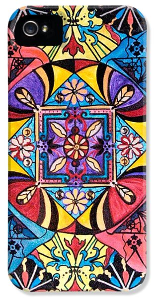 Spiritual iPhone 5 Cases - Worldly Abundance iPhone 5 Case by Teal Eye  Print Store