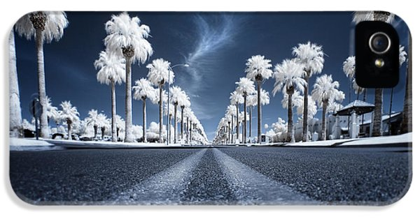 Street Scene iPhone 5 Cases - X iPhone 5 Case by Sean Foster