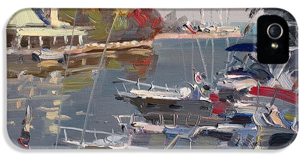 Credit iPhone 5 Cases - Yachts in Port Credit  iPhone 5 Case by Ylli Haruni