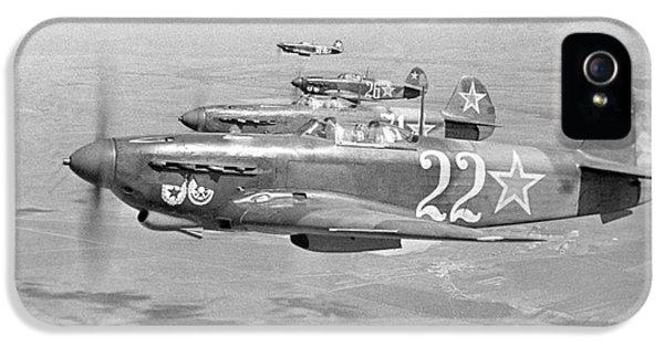 Yakovlev Yak-9 Fighters, 1942 IPhone 5 / 5s Case by Ria Novosti