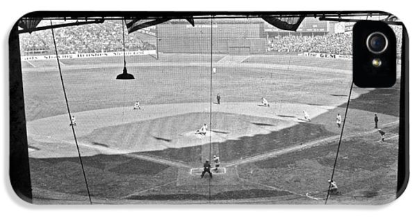 Yankee Stadium Grandstand View IPhone 5 / 5s Case by Underwood Archives