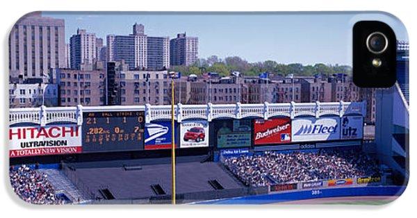 Yankee Stadium Ny Usa IPhone 5 / 5s Case by Panoramic Images