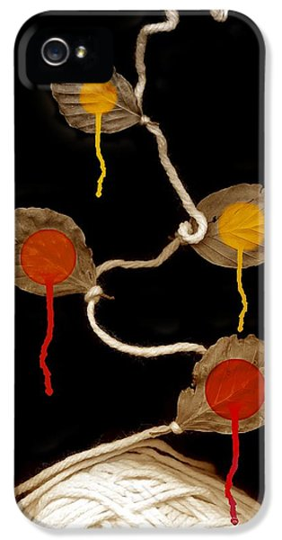 Bundle iPhone 5 Cases - Yarn Bloom iPhone 5 Case by Johan Lilja