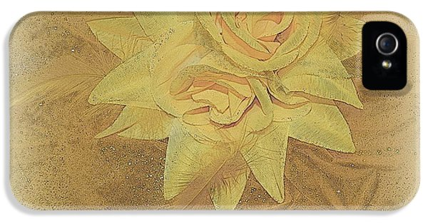 Milliner iPhone 5 Cases - Yellow Fascinator With Feathers iPhone 5 Case by Kathy Barney