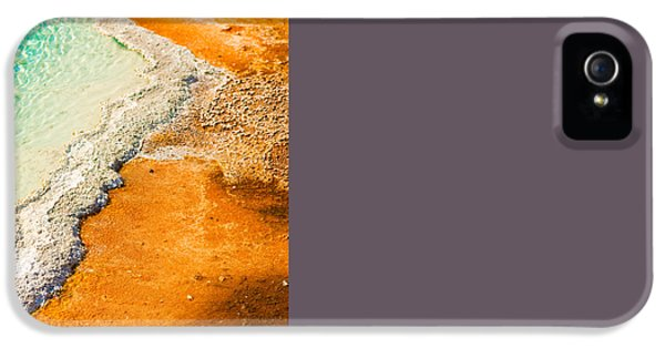 Yellowstone Abstract IPhone 5 / 5s Case by Sebastian Musial