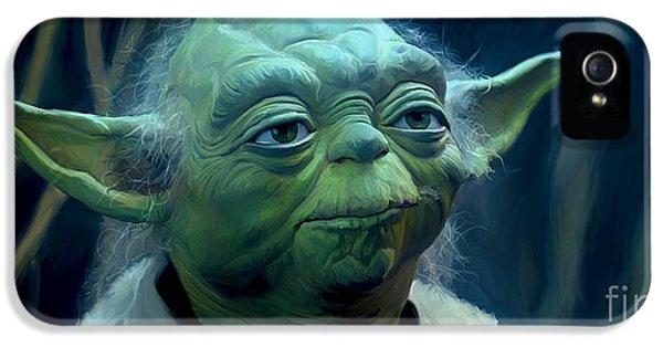 Yoda IPhone 5 / 5s Case by Paul Tagliamonte