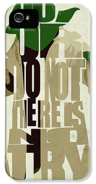 War iPhone 5 Cases - Yoda - Star Wars iPhone 5 Case by Ayse Deniz