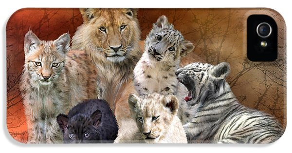 Young And Wild IPhone 5 / 5s Case by Carol Cavalaris