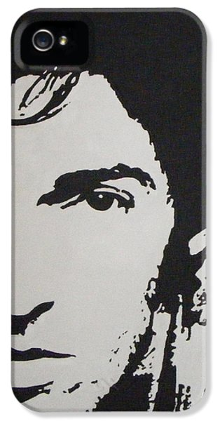 Music Legend iPhone 5 Cases - Young Boss iPhone 5 Case by ID Goodall