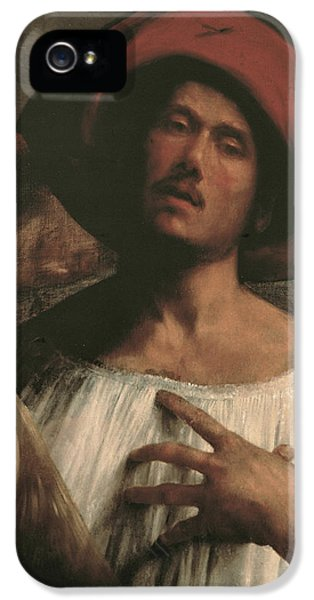 Emotion iPhone 5 Cases - Young Man Singing iPhone 5 Case by Giorgione